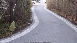 Jardimpact - Schaerbeek - Terrasses en pavés béton